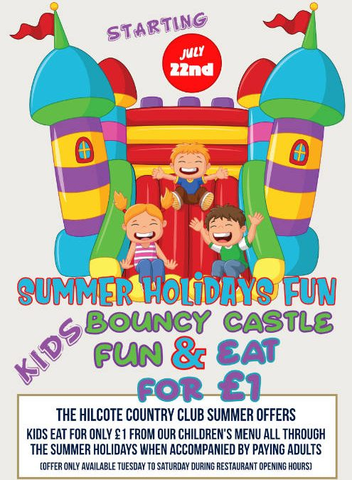 Summer School Holiday Offer